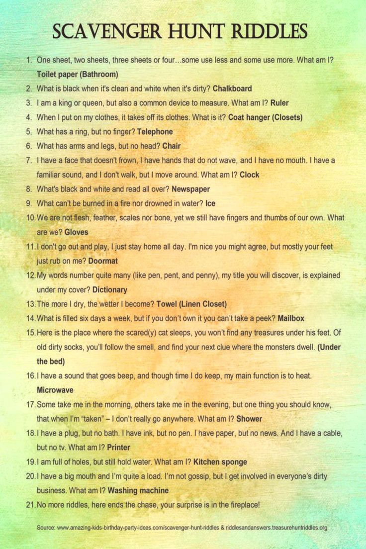 My Newfound Love of Scavenger Hunts 10 Reasons to Try