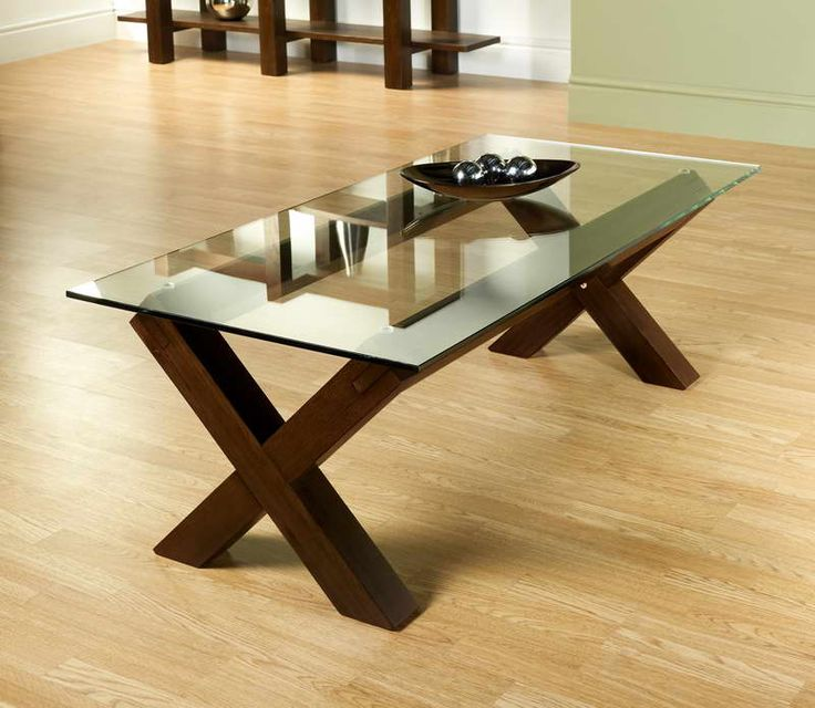 Coffee Table. I Would Build The Base But Give It A More