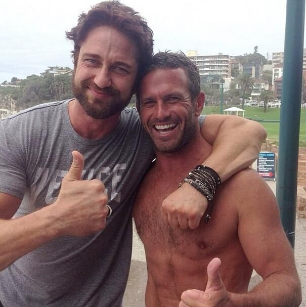 bondirescue Bondi Rescue · 5h Hollywood superstar @ GerardButler came down to Bondi to hang out with @bondibaggins and the @bondilifeguards! pic.twitter.com/heWkEb4N9c
