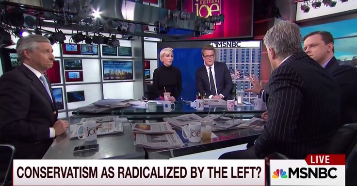 "A ""Morning Joe"" panelist became offended on-air while speaking about liberal colleges, and jokes about safe spaces ensued"