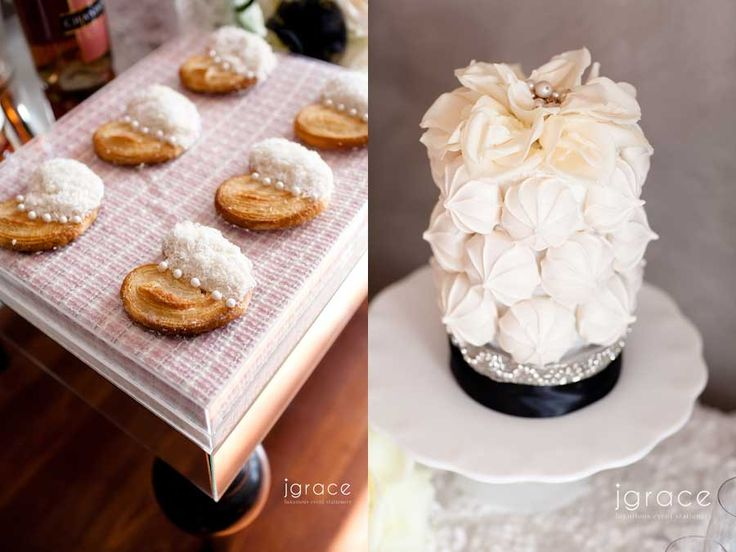Google Image Result for http://jgrace.com/wp-content/uploads/2012/02/pink-and-black-chanel-wedding-desserts.jpg