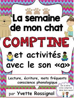 https://www.teacherspayteachers.com/Product/La-semaine-de-mon-chat-Comptine-et-activites-de-litteratie-avec-le-son-a-1592290