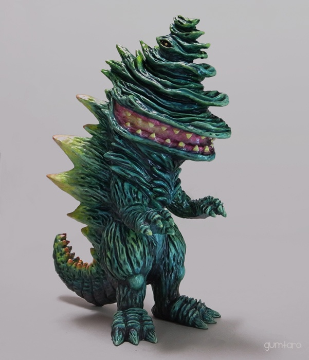 image of gumtaro three-dimensional character illustration crocodile la