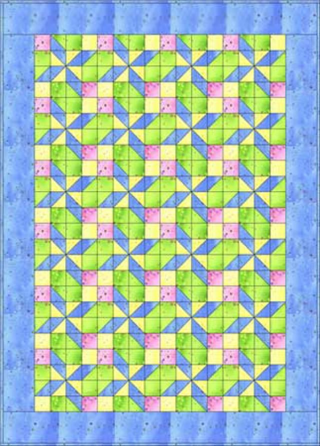 Stitch a Baby Quilt for That Special Little One: Pretty in Pastels Baby Quilt