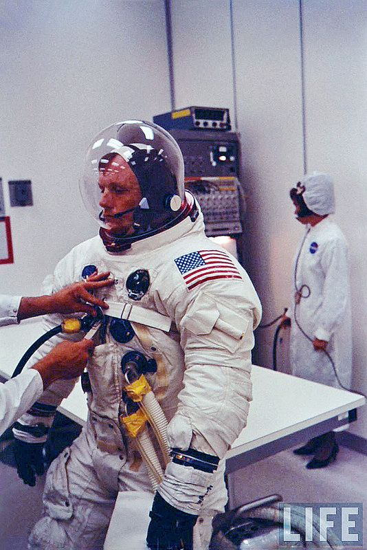 """Apollo 11: Neil Armstrong astronaut , """" The First man on the moon """" (1969) 
