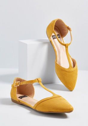 a017177851 The Zest Is History Heel in 2019 | New shoes ❣ | T strap flats ...