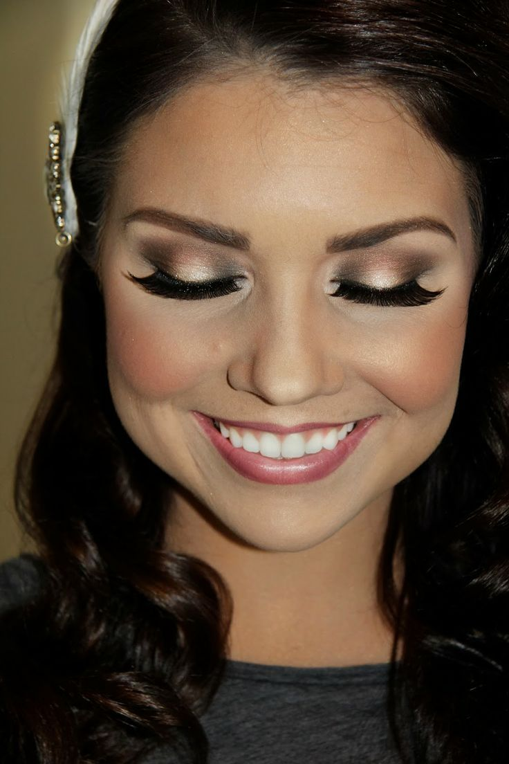 Light Makeup: Bridal Makeup, Light Colors And 1920s Makeup On Pinterest