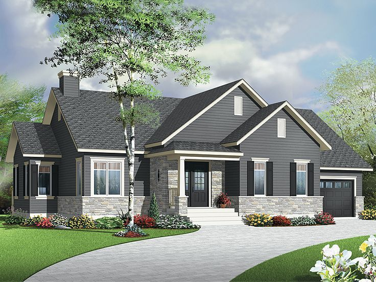 empty nester house plan 027h 0316 small and simple houses bungalow house plans house plans. Black Bedroom Furniture Sets. Home Design Ideas