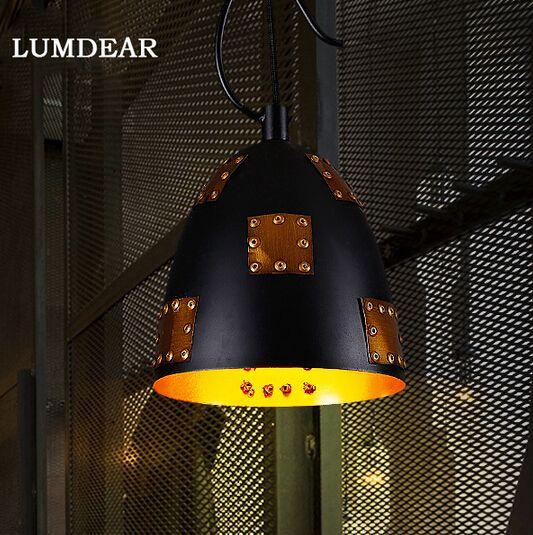 Американский промышленный старинные северной любовные чувства творческий подвесной ресторан кафе ретро подвеска лампа бесплатная доставка