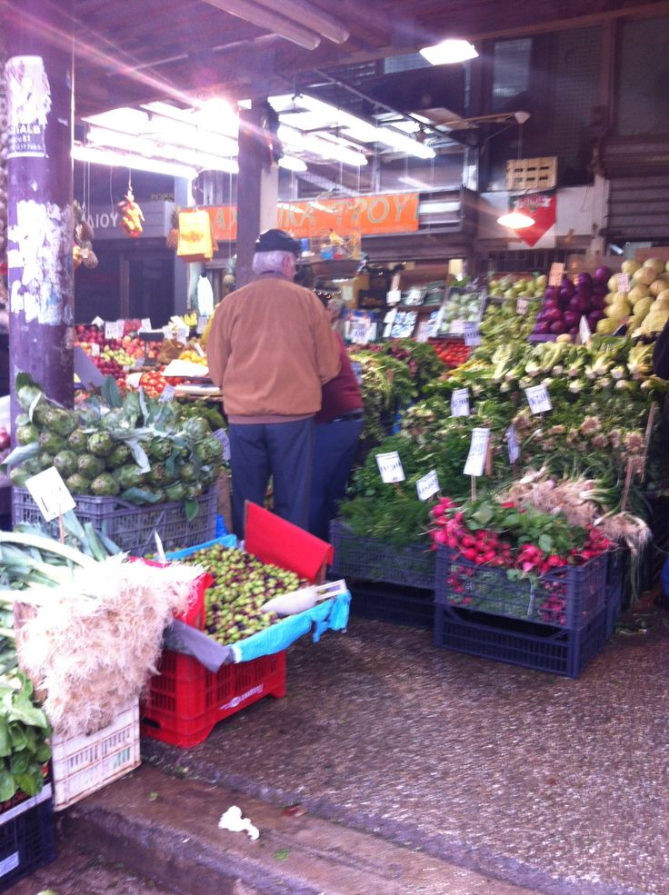 Athens markets.