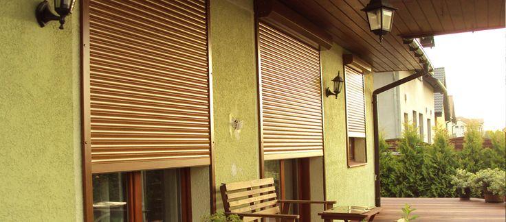 Защитные ролеты - рольставни             Обеспечить дополнительную защиту от проникновения злоумышленников или оградить двери и окна от влияния погодных условия помогут защитные ролеты, которые рассчитаны на выполнение нескольких функций. Далее: http://nikoss.com.ua/katalog-zhalyuzi/rolstavni.html