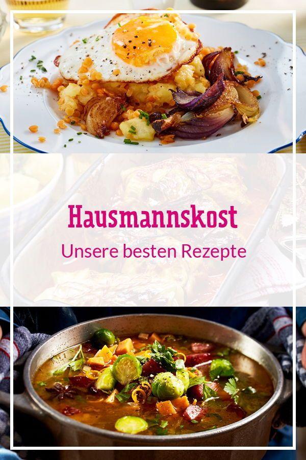 Hausmannskost Futtern Wie Bei Muttern Lecker Rezepte Kochrezepte Essen