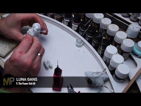 Building the Ma.K LUNA GANS part 9 [Power Unit assembly 2] - YouTube