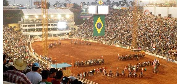 Festa do Peão de Boiadeiro, em Barretos. Uma das mais tradicionais e frequentadas do estado de São Paulo