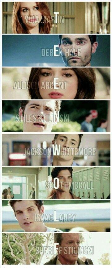 Teen wolf original cast. Can't wait until June though.