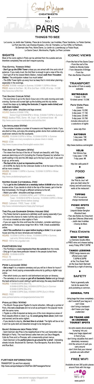 get the full cheat sheet below!   I'm replacing the City Guides with these Cheat Sheets  - practical guides about the places to go, what t...