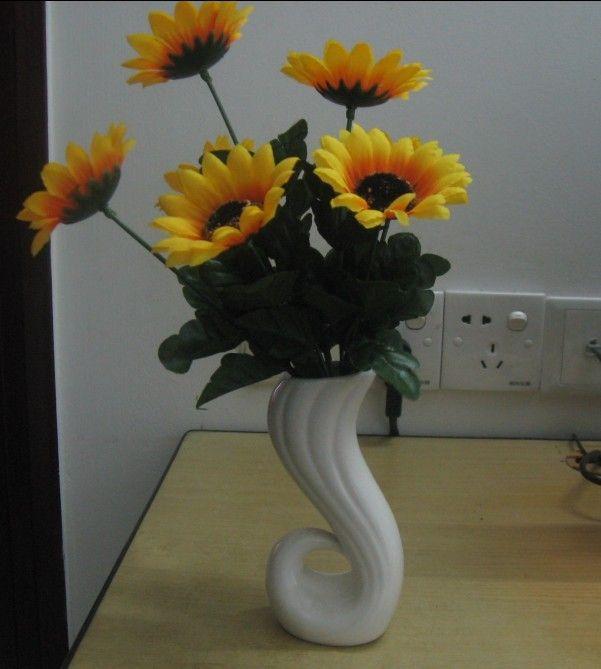 Керамическая ваза украшения дома утонченную элегантность керамическая ваза обеденный стол украшения цветочный горшок