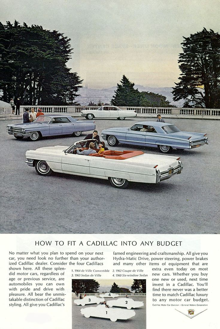 Cadillac how to fit into any budget love the old caddies