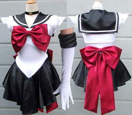 Sailor Pluto cosplay outfit! // OMG it's so perfect <3