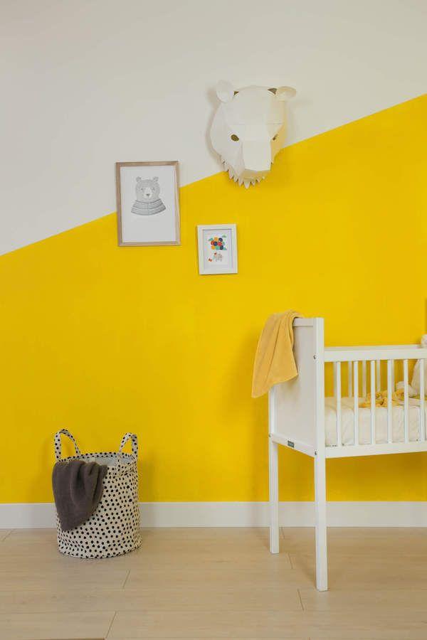 Een babykamer opgezet in de fairf studio met de duurzame kleur Lieke! #kleur #interieur #design #woonkamer #kinderkamer #duurzaam #fairf #verven #kinderkamerinspiratie #biologisch #woonkameridee #trendkleuren #interieurtrends #design