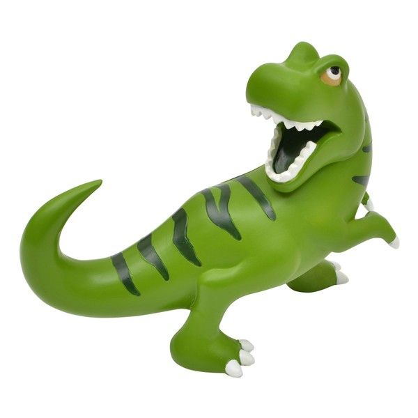 Go back to the jurassic era and save pennies with this bright and colourful Dinosaur Money Box.