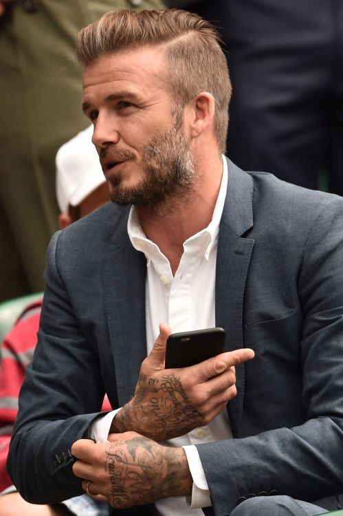 Smile! — myside: David Beckham by Cédric Buchet for 10...