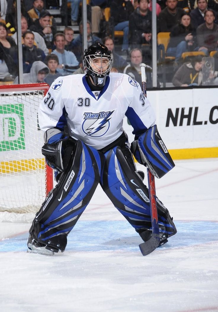 Pin by Big Daddy on Tampa Bay Lightning Goalies in 2020