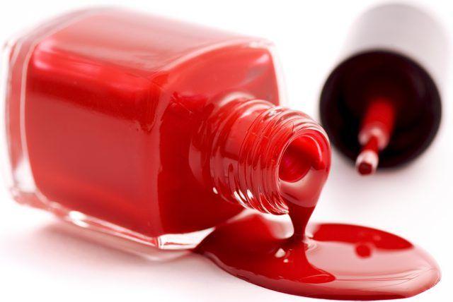 How To Get Nail Polish Off A Laminate Floor Hunker Bubbles In Nail Polish Diy Nail Polish Red Nail Polish