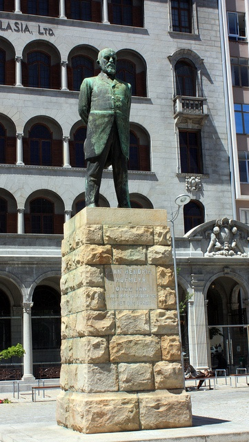 "Statue of Jan Hendrik Hofmeyr [""Onze Jan""], Cape Town by Kleinz1, via Flickr"