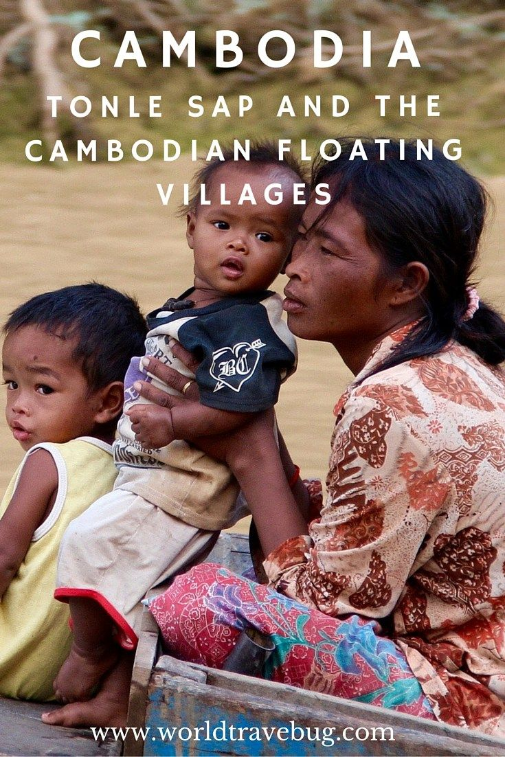 Tonle Sap and the Cambodian floating villages - a photo essay, a virtual tour of life on water