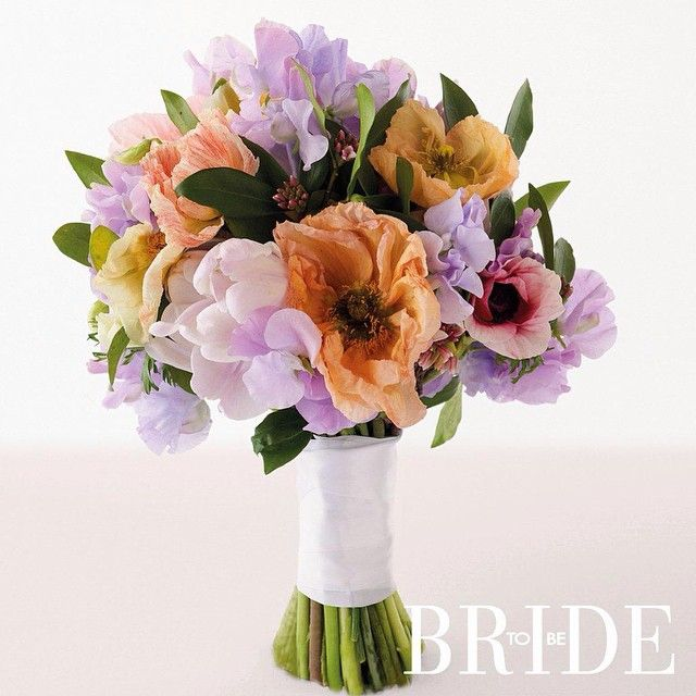 #ShareIG This pretty bouquet was created by #BLeaf florist in Sydney for our current Flowers and Wedding Styling annual. With #sweetpea, #parrottulip, #anemone and #poppy. #bridetobemag #weddings #weddingflowers #flowers #bouquet