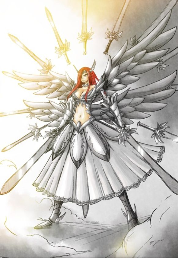 Erza - Fairy Tail.