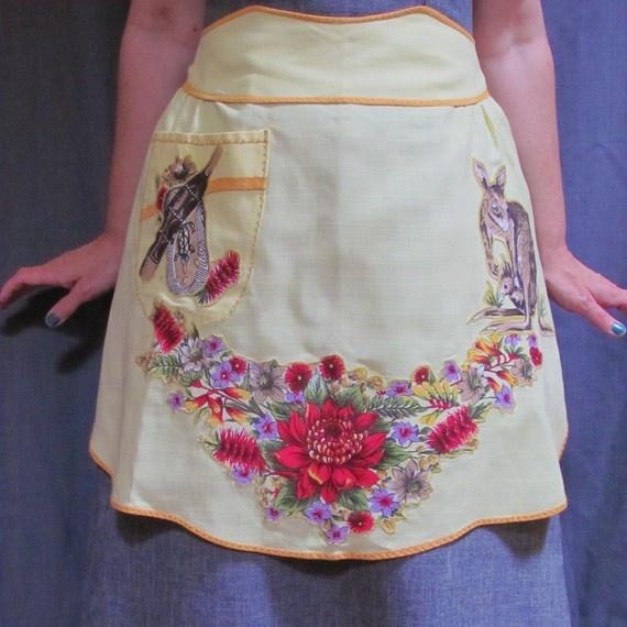 Vintage Australian apron