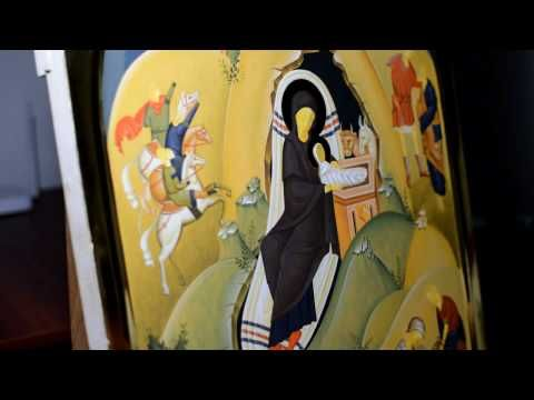 How to paint an Icon - Iconography Tutorial - YouTube