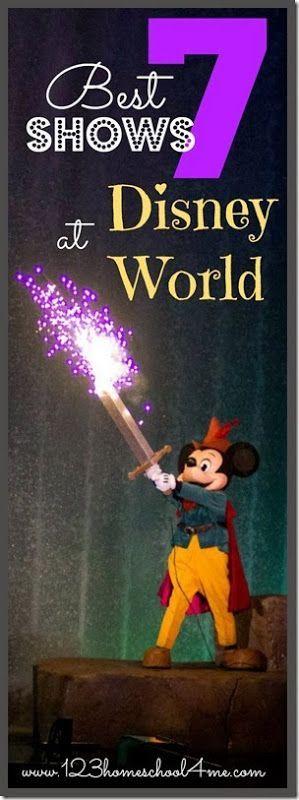 7 BEST shows @ Disney World - Animal Kingdom, Magic Kingdom, Epcot, and Hollywood Studios