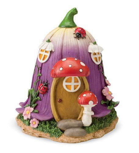 Fairy Village House, in Flower by HearthSong®, http://www.amazon.com