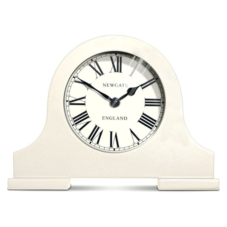 This Desk Mantelfrom Newgate is sure to add a retro inspired style to your home. With a wooden casing, sleek glass lens and clean printed Roman numerals,its attractive design makes it a fantastic