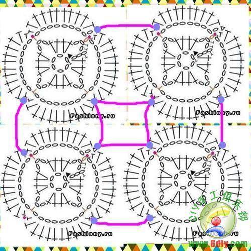 Crochê Tricô - Gráficos: Biquini com Bojo Lindíssimo