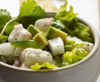 Ceviche van zeebaars met avocado recepten - myTaste.be