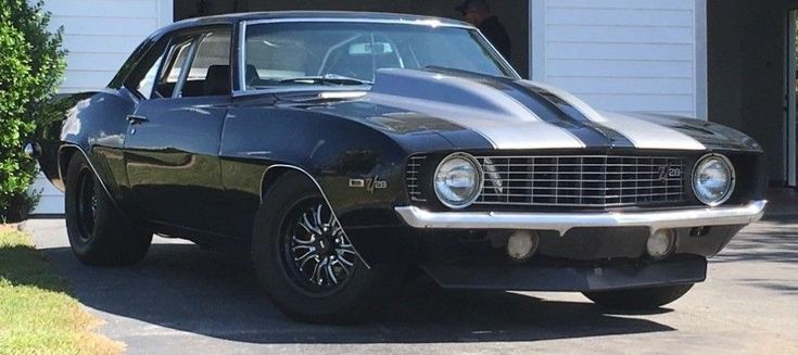 restomod big block 1969 Chevrolet Camaro 502 custom