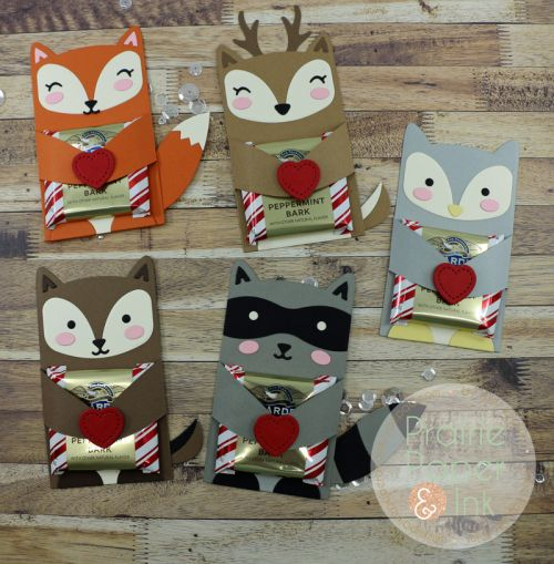 Lawn Fawn Woodland Critter Huggers | AmyR Valentine Series #4!