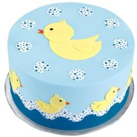 Cake for rubber duck party: Baby Shower Cakes, Row Cakes, Ducks Birthday Cakes, Cakes Decoration, Ducks Cakes, Ducks Baby Showers, Baby Showers Cakes, Cakes Idea, Rubber Ducks