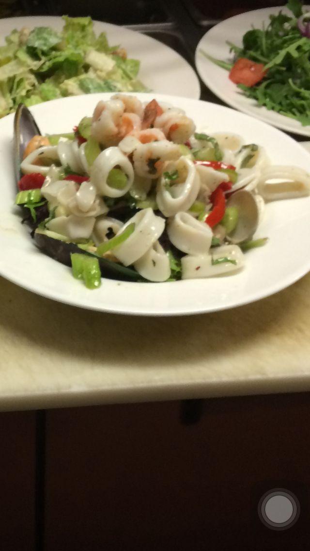 Loock rica en salada 🙀🍴🍴