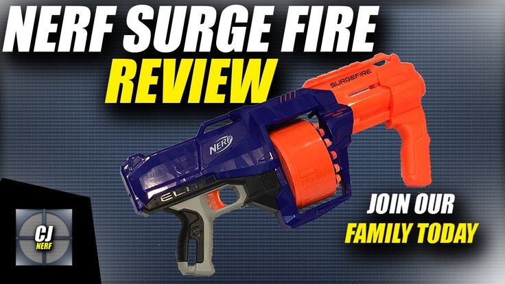 Nerf Elite Surge Fire Review (New Nerf Elite Series