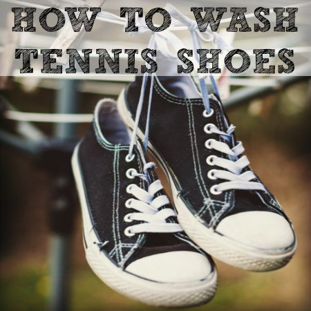 Here's how to wash tennis shoes or sneakers to remove stains, eliminate odors, and prolong their lifespan. Plus, how to get rid of scuff marks on them, too.