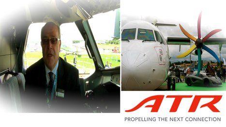 flygcforum.com ✈ ATR SERIES AIRCRAFT ✈ Farnborough Airshow 2012 ✈