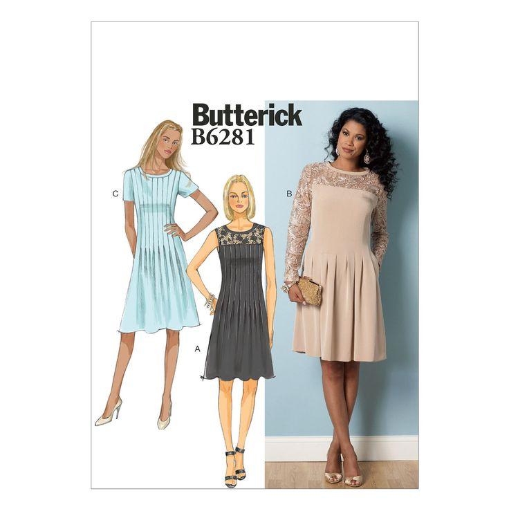 B6281 Misses'/Misses' Petite Dress
