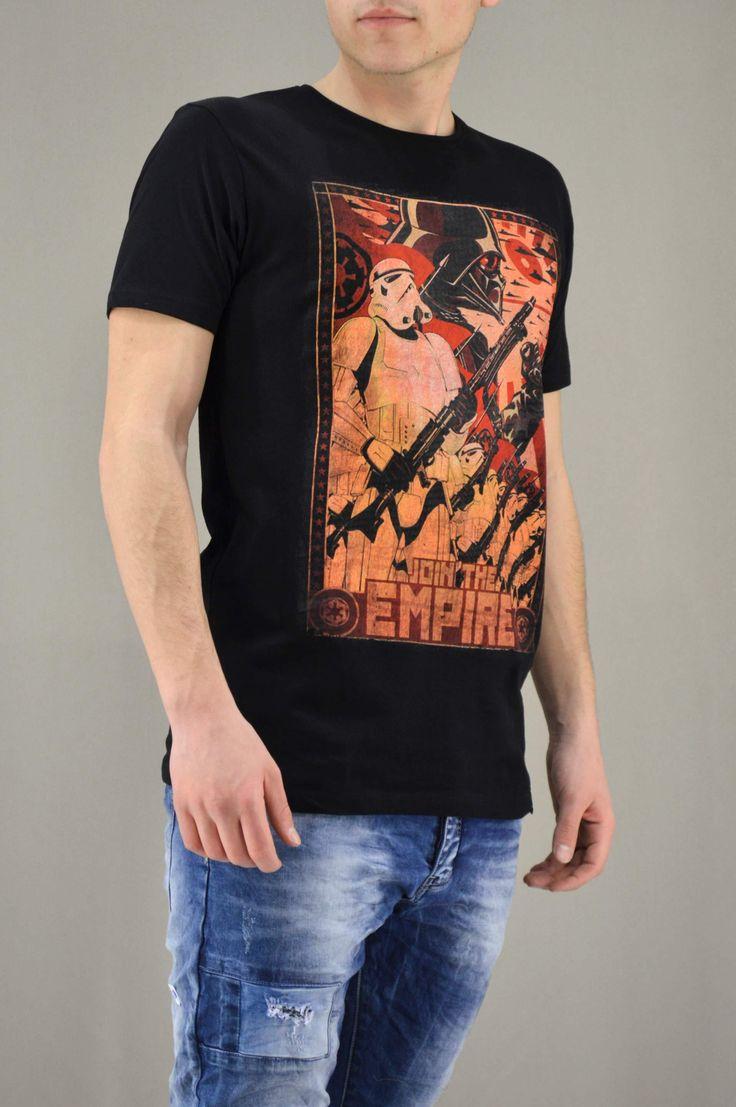 Ανδρικό t-shirt Star Wars Join the empire   T-shirts -