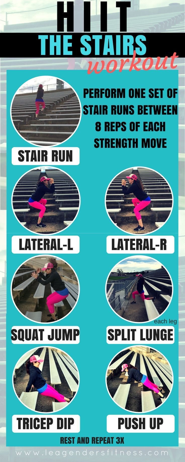 HIIT THE STAIRS WORKOUT — Lea Genders Fitness