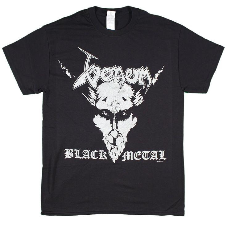 Venom - Black Metal silver print t-shirt black